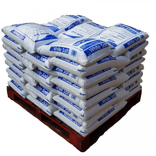 Full Pallet White Salt Maxi Bags