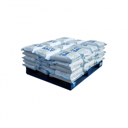 50 x White De-Icing Salt - Easy Carry Bags