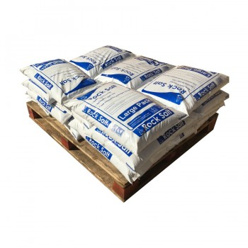 Half Pallet Large Red Salt Bags