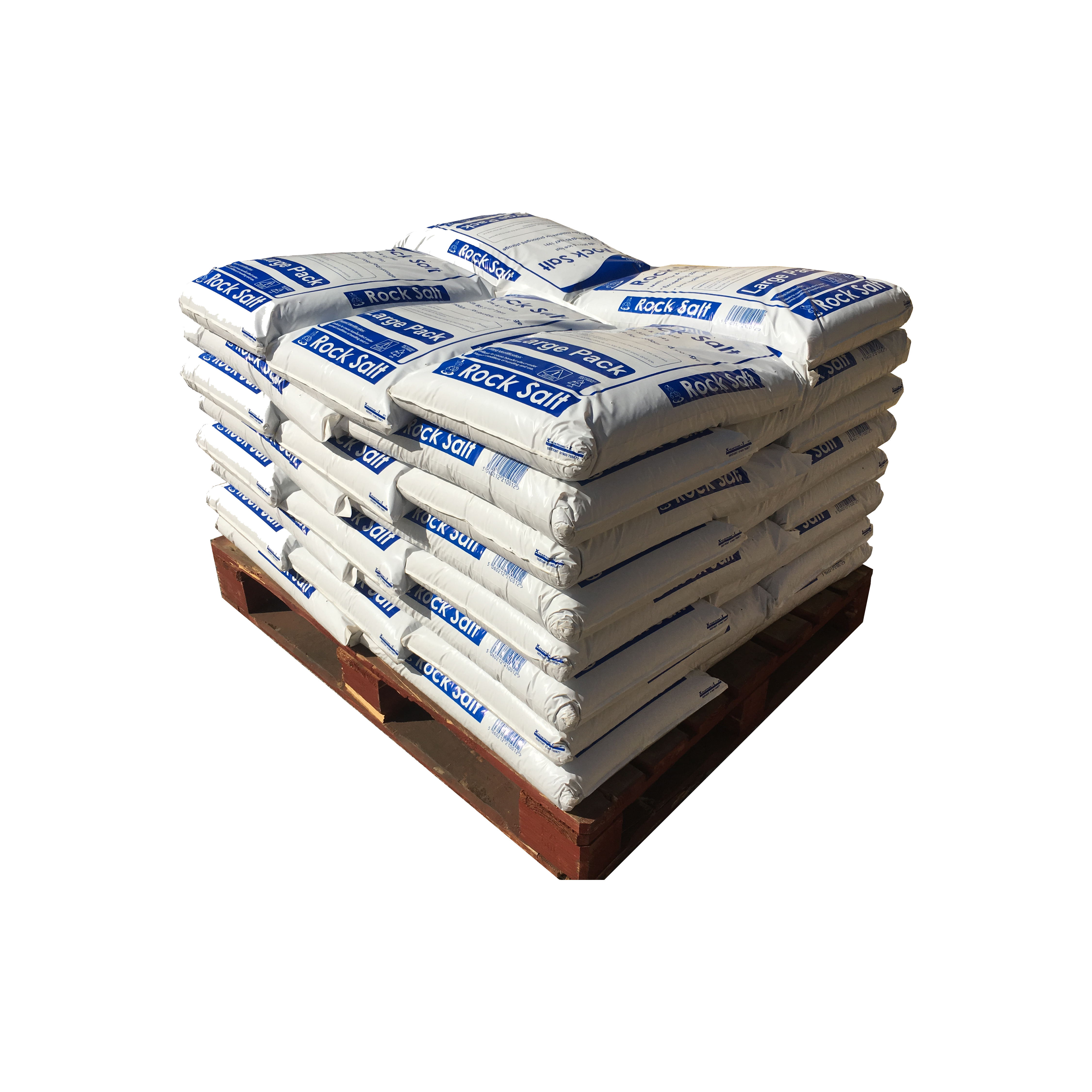 Pallet Large Red Salt Bags